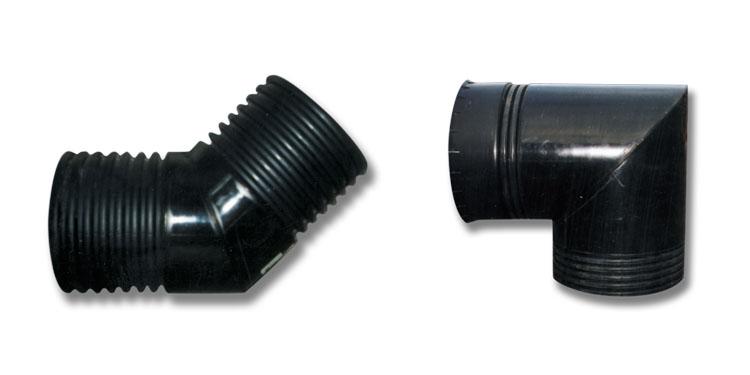 BTW150X45 - 225mm 45˚ Bend, BTW600X90 - 600mm 90˚ Bend